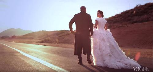 wedding kimye