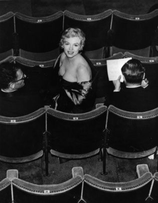 Marilyn In Audience