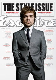 Peter Dinklage covers ESQUIRE, February 2014