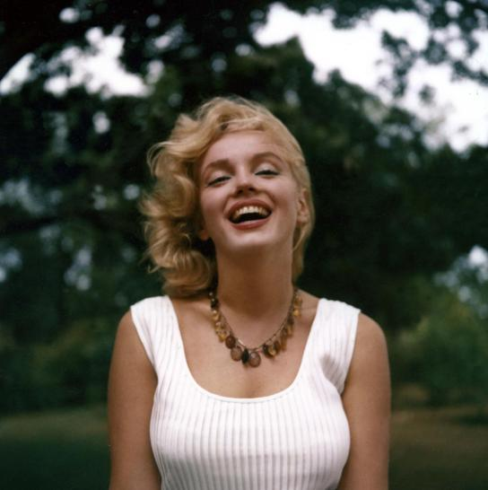 Marilyn Monroe by Sam Shaw, September 1957