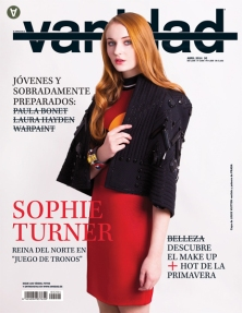 Sophie Turner in Vanidad