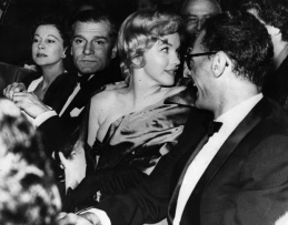 Vivien Leigh, Laurence Olivier, Marilyn Monroe and Arthur Miller at the opening night of A View from the Bridge