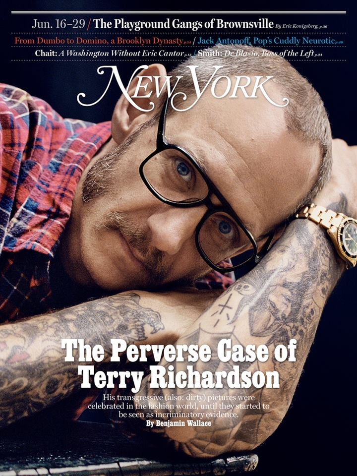TErry Richardson on New York