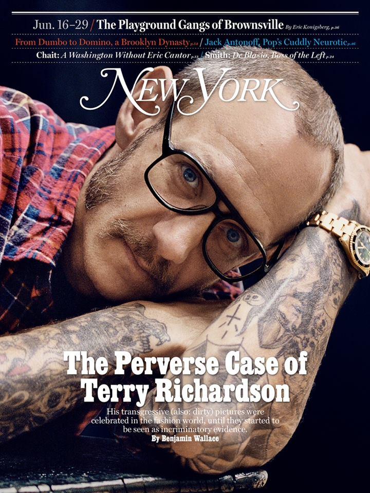 TErry Richardson on New York