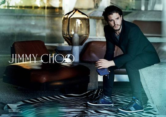 Kit Harington x Jimmy Choo