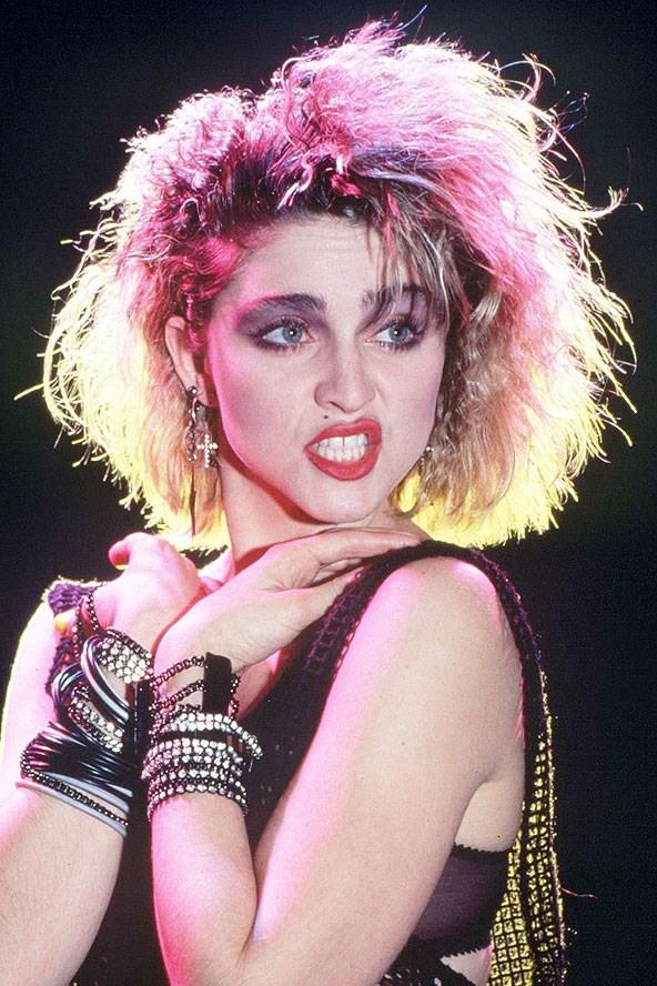Madonna Rainbow Hair Beyond Celebrity