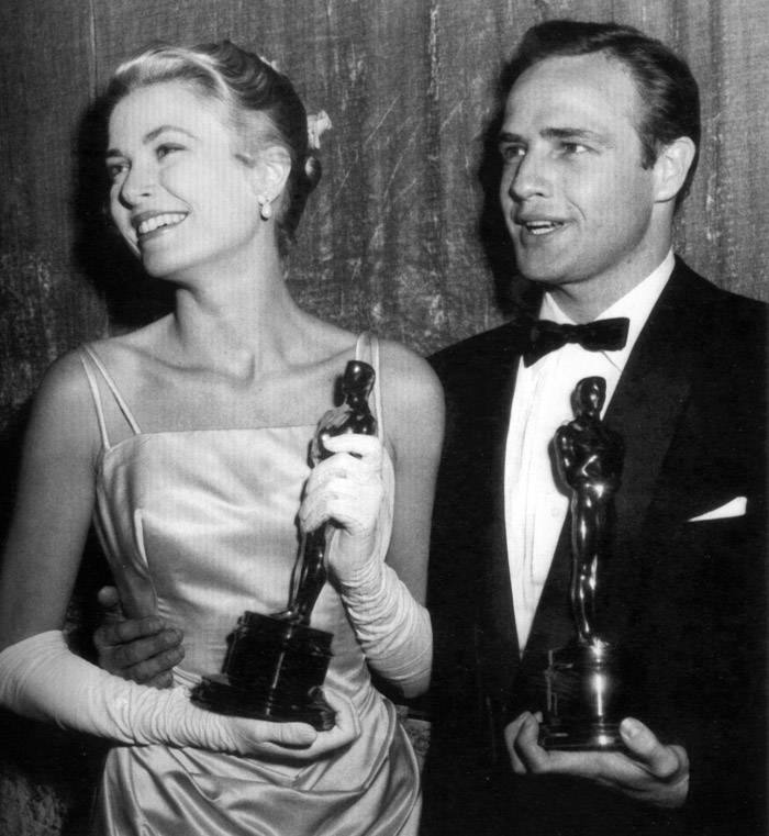 Grace-Kelly-Marlon-Brando-Oscars