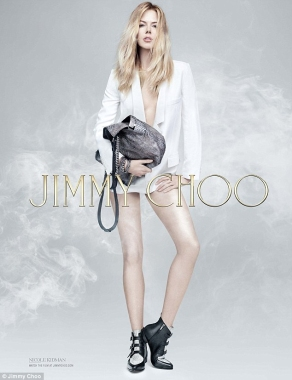 Nicole Kidman fourth print ad for Jimmy Choo