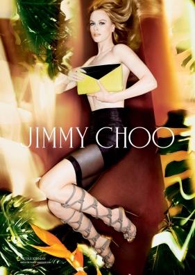 Nicole Kidman third print ad campaign