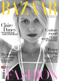 Claire Danes on Harper Bazzar UK