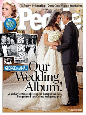 Amal & George Clooney on People