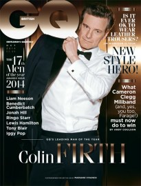 Colin Firth on GQ British