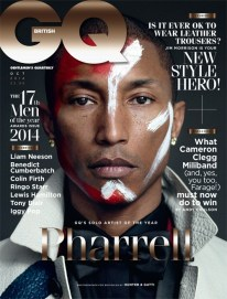 Pharrell Williams on GQ British