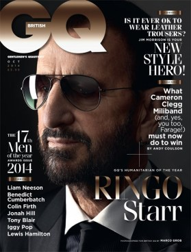 Ringo Starr on GQ British
