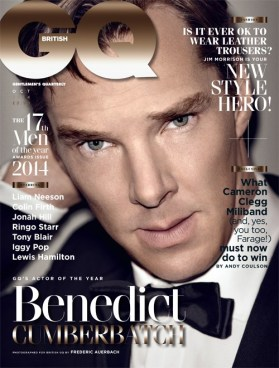 Benedict Cumberbatch on GQ British