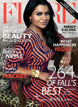 Mindy Kaling on Flare