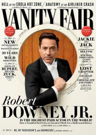 RDJ on Vanity Fair