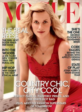 Reese Witherspoon on Vogue