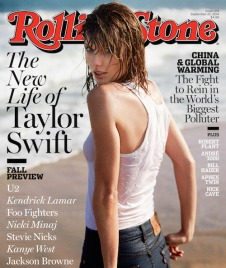 Taylor Swift on Rolling Stone