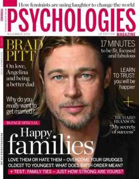 Brad Pitt on Psychologies