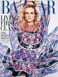 Diane Kruger on Harper Bazaar Australia