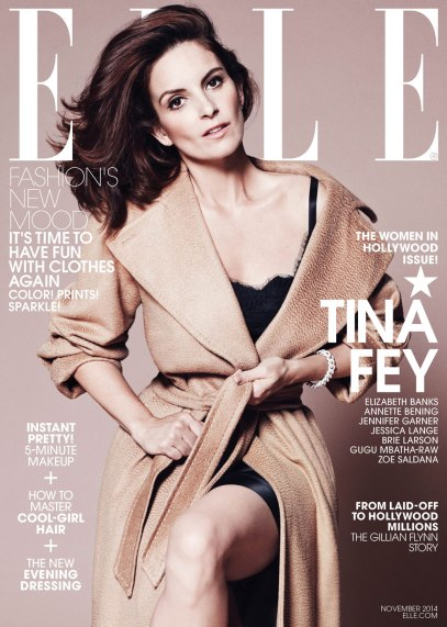 Tina Fey on Elle