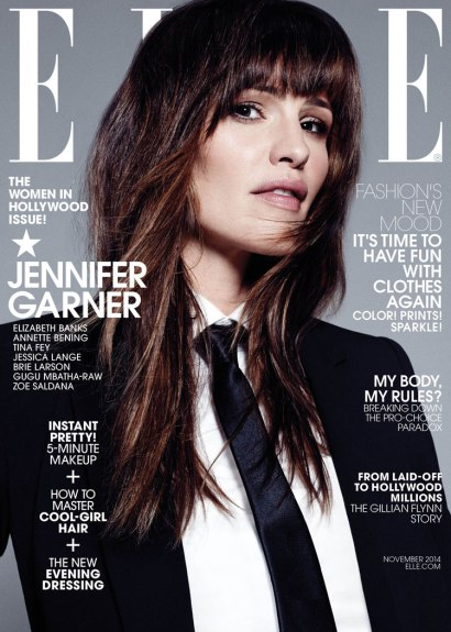 Jennifer Garner on Elle