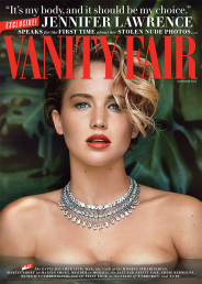 Jennifer Lawrence on Vanity Fair