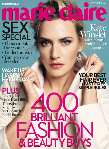 Kate Winslet on Marie Claire