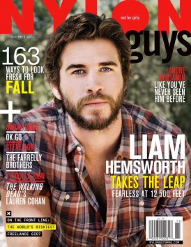 Liam Hemsworth on Nylon Guys