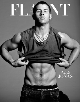 Nick Jonas on Flaunt