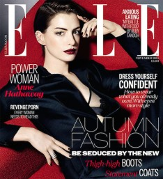 Anne Hattaway on Elle