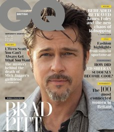 Brad Pitt on GQ