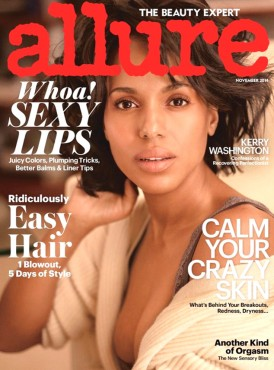 Kerry Washigton for Allure
