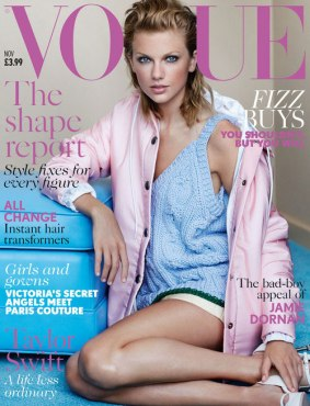 Taylor Swift on Vogue