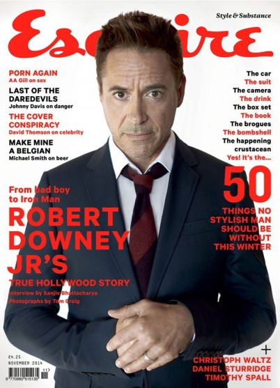 RDJ on Esquire