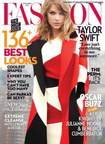 Taylor Swift on Fashion Mag