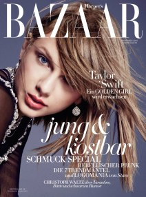 Taylor Swift on Bazaar Germany