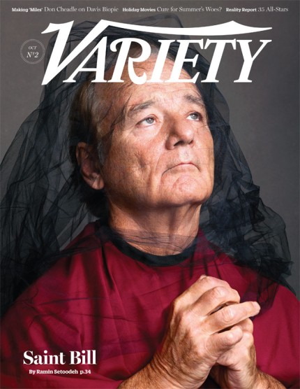 Bill Murray on Variety