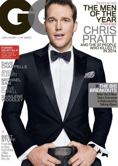 Chris Pratt for GQ