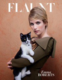 Emma Roberts for Flaunt