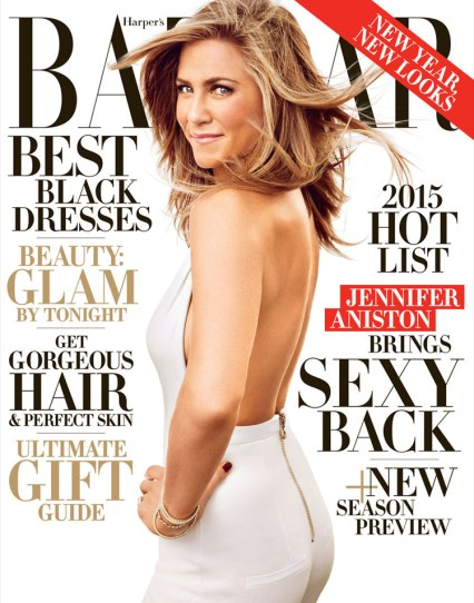 Jennifer Aniston for Bazaar