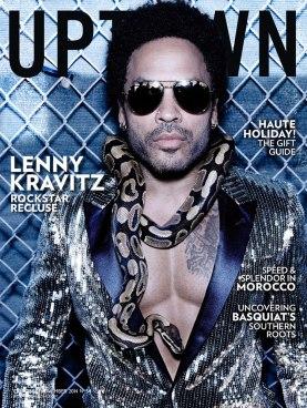 Lenny Kravitz for Uptown
