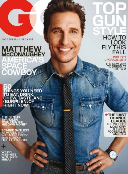 Matthew McConaughey for GQ