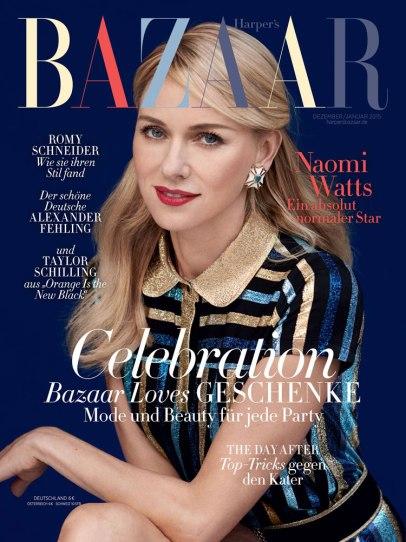 Naomi Watts for Bazaar