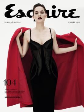 Marion cotillard Esquire Russia NOV
