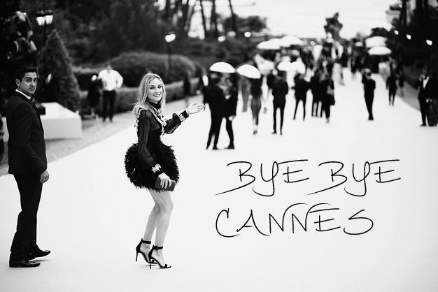 Diane Kruger bye bye cannes