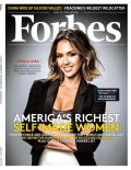 Jessica Alba on Forbes
