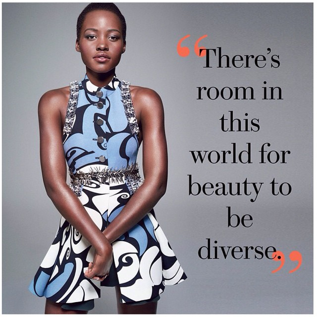 Lupita for Glamour woman of the year